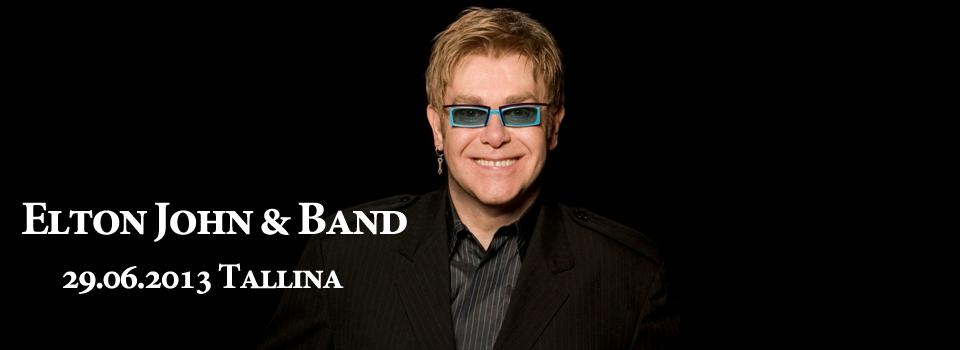 Braucam kopā uz Eltons Džons (Elton John) koncertu Tallinā