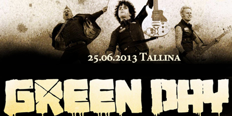 Uz Green Day koncertu Tallinā braucam kopā ar Braucamkopa.lv