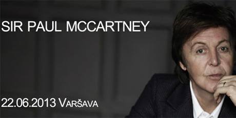 Braucam kopā uz  Pauls Makartnijs (Paul McCartney) koncertu Varšavā