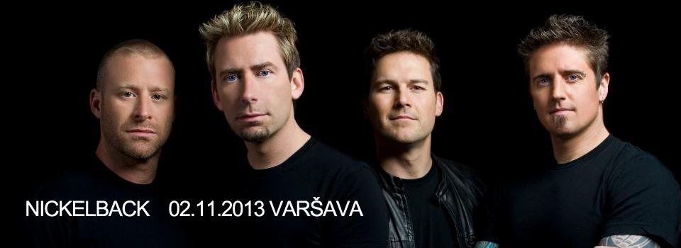 Nickelback koncerts Varšavā. Braucam kopā!
