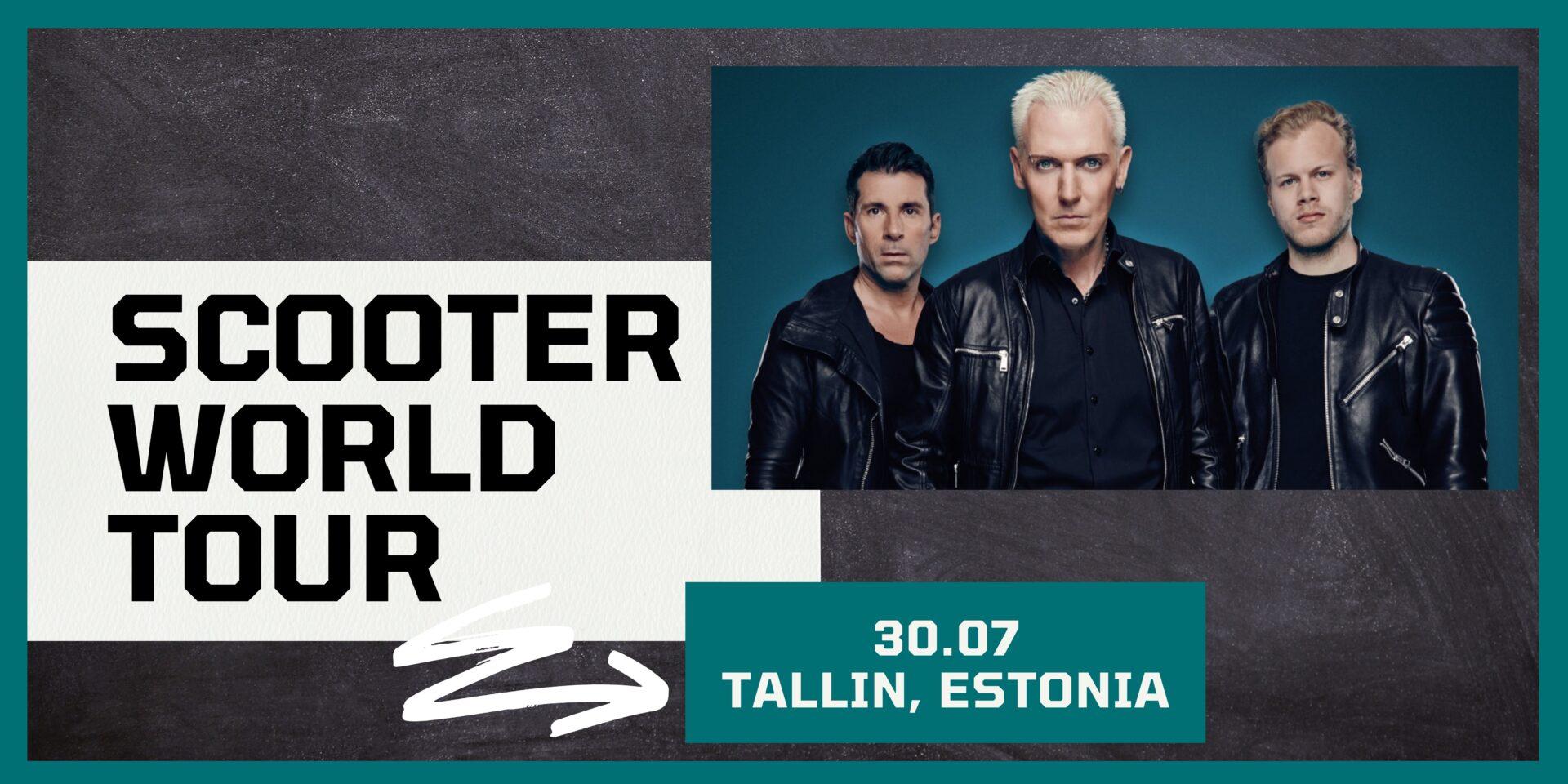 SCOOTER Tallinā 30.07.2021